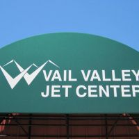 Vail Valley Jet Center terminal awning